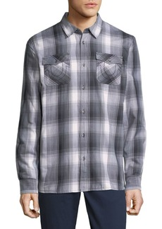 True Religion Plaid Button-Up Shirt