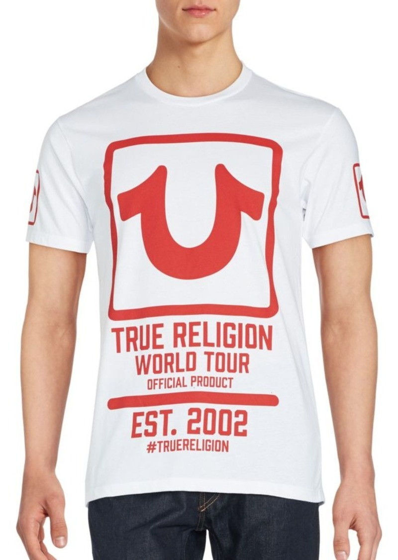True Religion Printed Short Sleeve T-Shirt