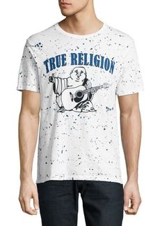 True Religion Printed Speckled Tee