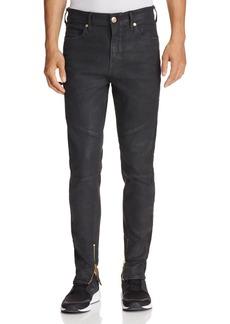 True Religion Racer Black Crater Slim Fit Jeans in Black