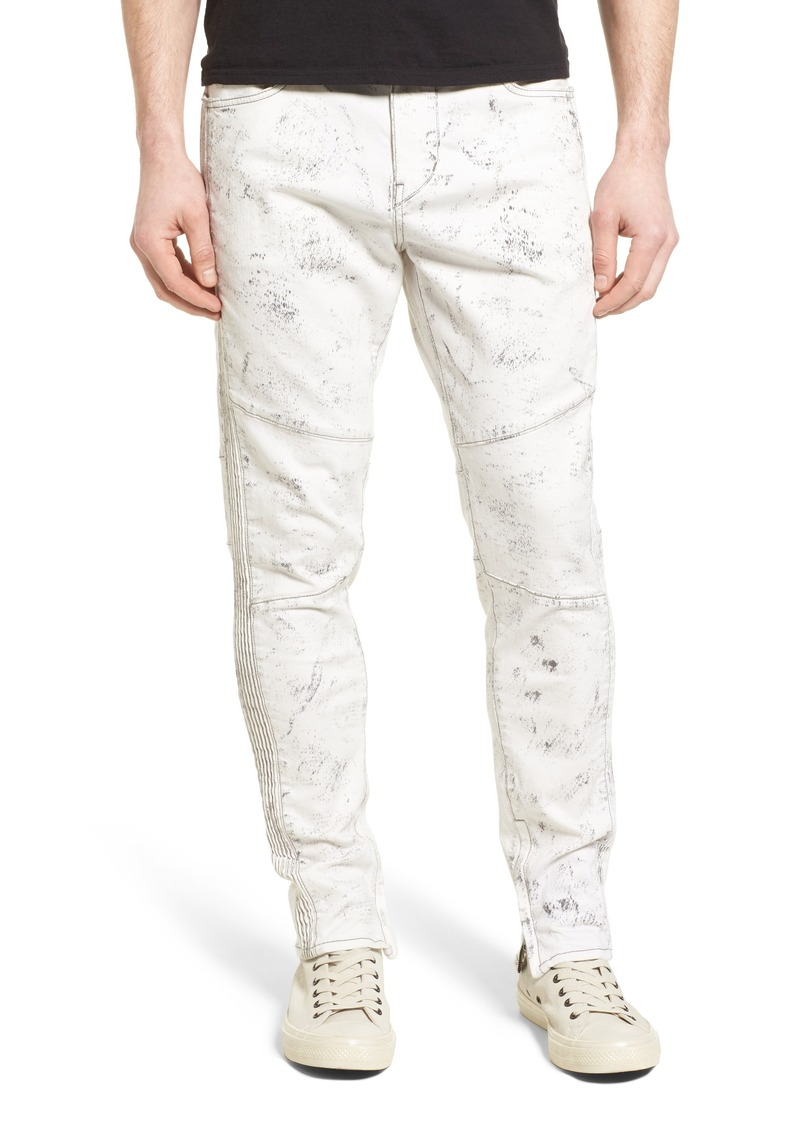 True Religion Brand Jeans Racer Skinny Fit Jeans (Black Sand)