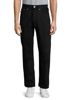 True Religion Straight Flap-Pocket Jeans