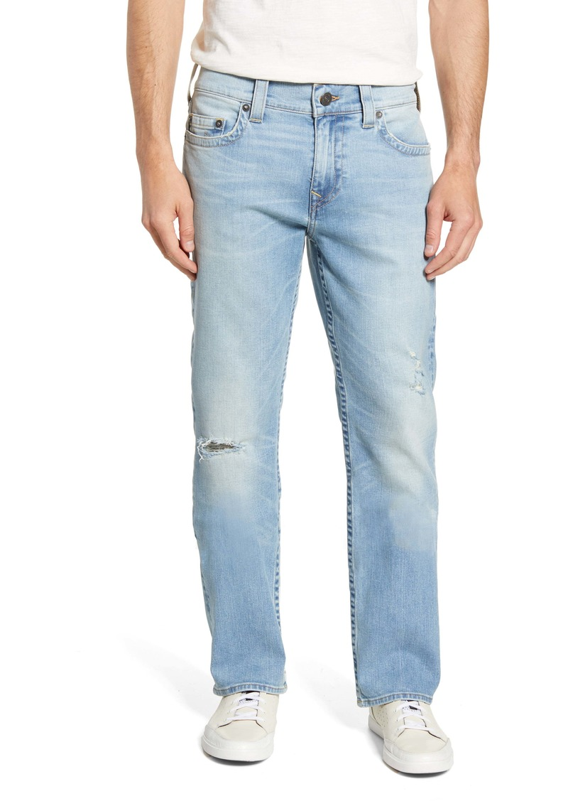True Religion Ricky Straight Leg Jeans (Worn Blue Tide)