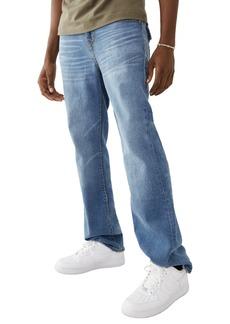 True Religion Ricky Super T Straight Leg Jeans (Medium Retro Faded)