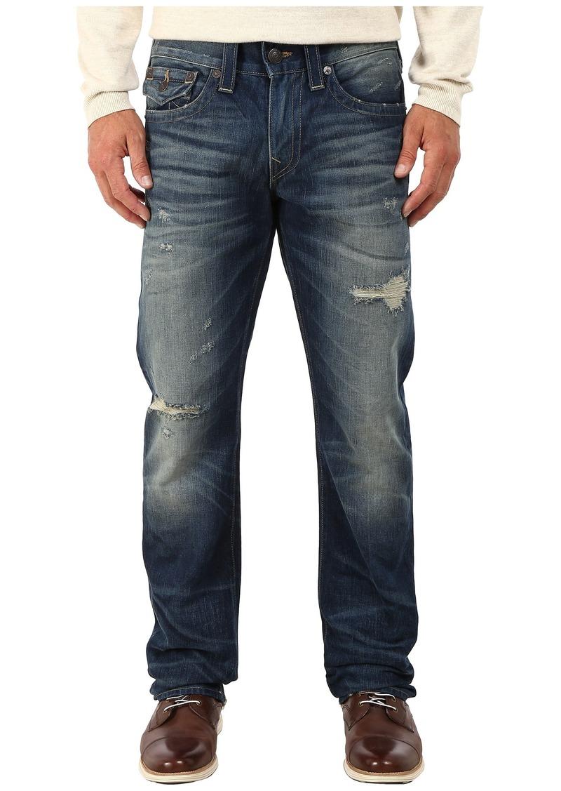 True Religion Ricky w/ Flaps Jeans in Broken City