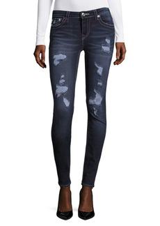 True Religion Rip Curvy Skinny Jeans