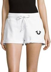 True Religion Runner Cotton Shorts