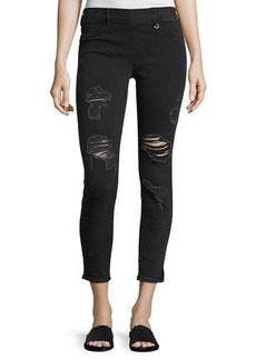 True Religion Runway Cropped Denim Legging