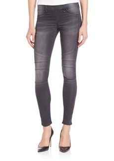True Religion Runway Moto Legging Jeans