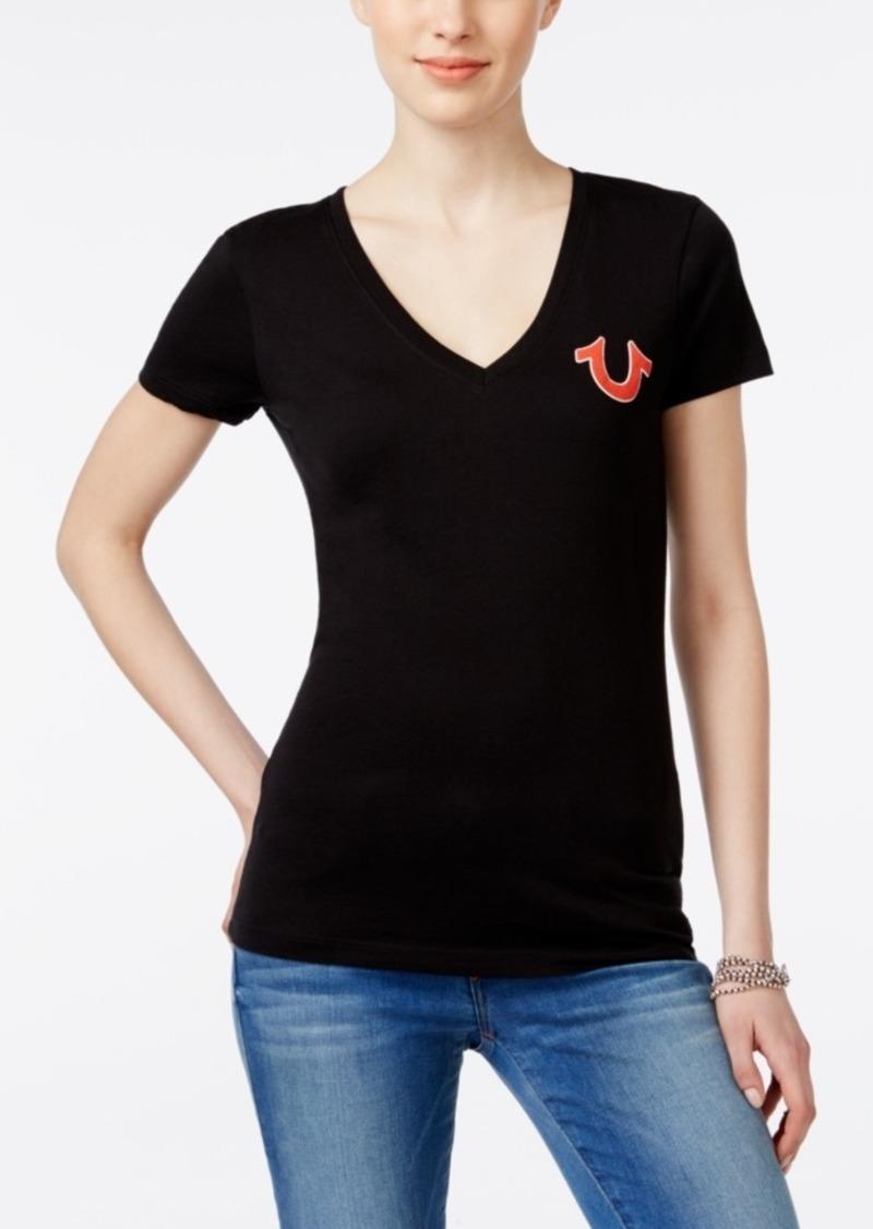 True Religion Short-Sleeve Logo T-Shirt