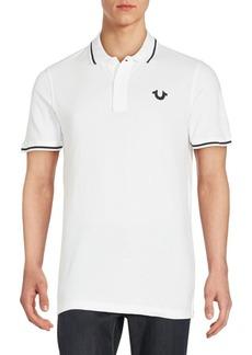 True Religion Signature Print Polo Shirt