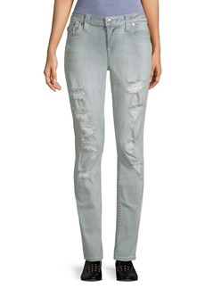 True Religion Skinny Distressed Jeans