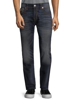 True Religion Skinny Leg Contrast Jeans