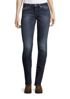 True Religion Slim-Fit Ankle-Length Jeans