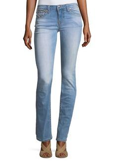 True Religion Slim-Straight Flap-Pocket Jeans
