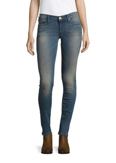 True Religion Stella Low-Rise Skinny Denim Pants