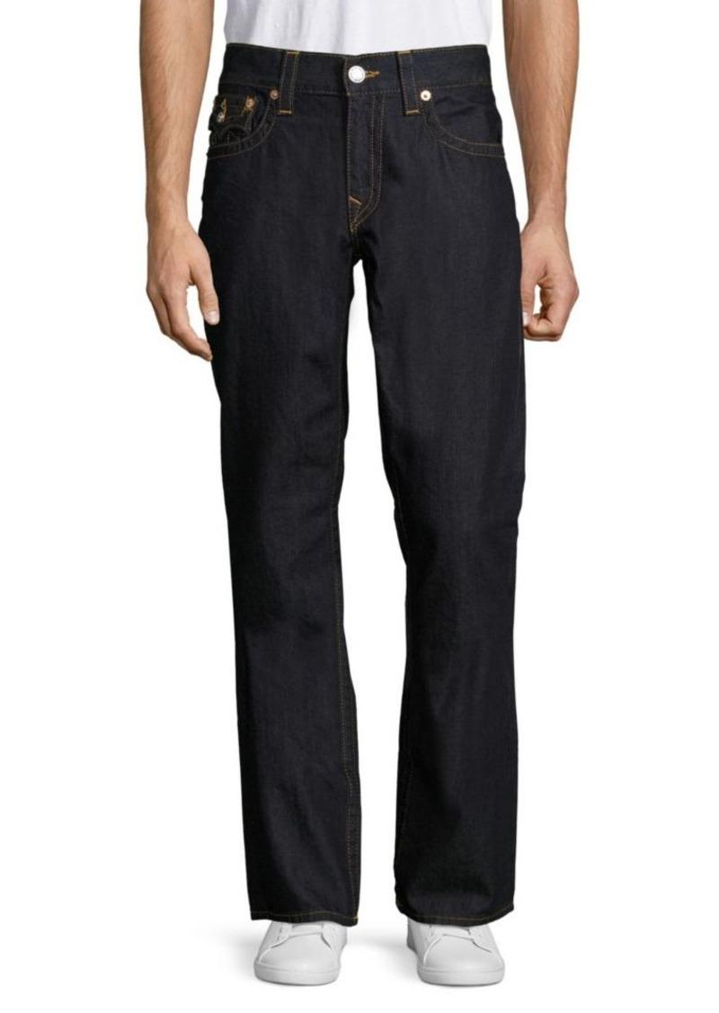 f0a2dd087da True Religion Straight-Fit Flap-Pocket Jeans