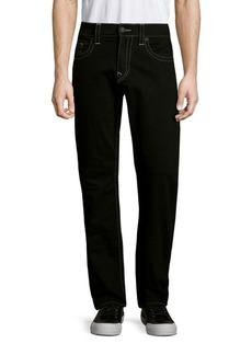 True Religion Straight-Fit Run-Stitch Jeans