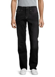 True Religion Straight-Fit Flap-Pocket Jeans
