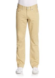 True Religion Straight-Leg Cotton Pants