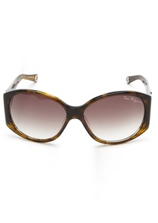 True Religion Sunglasses Madison Oversized Sunglasses  59 Mm
