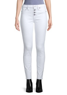 True Religion Super-Skinny Button Jeans