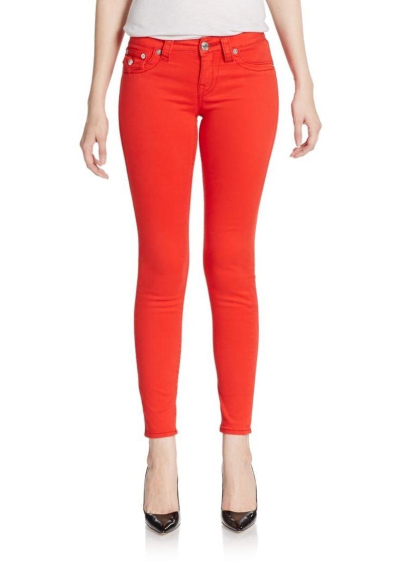 True Religion Swarovski Crystal-Embellished Legging Jeans