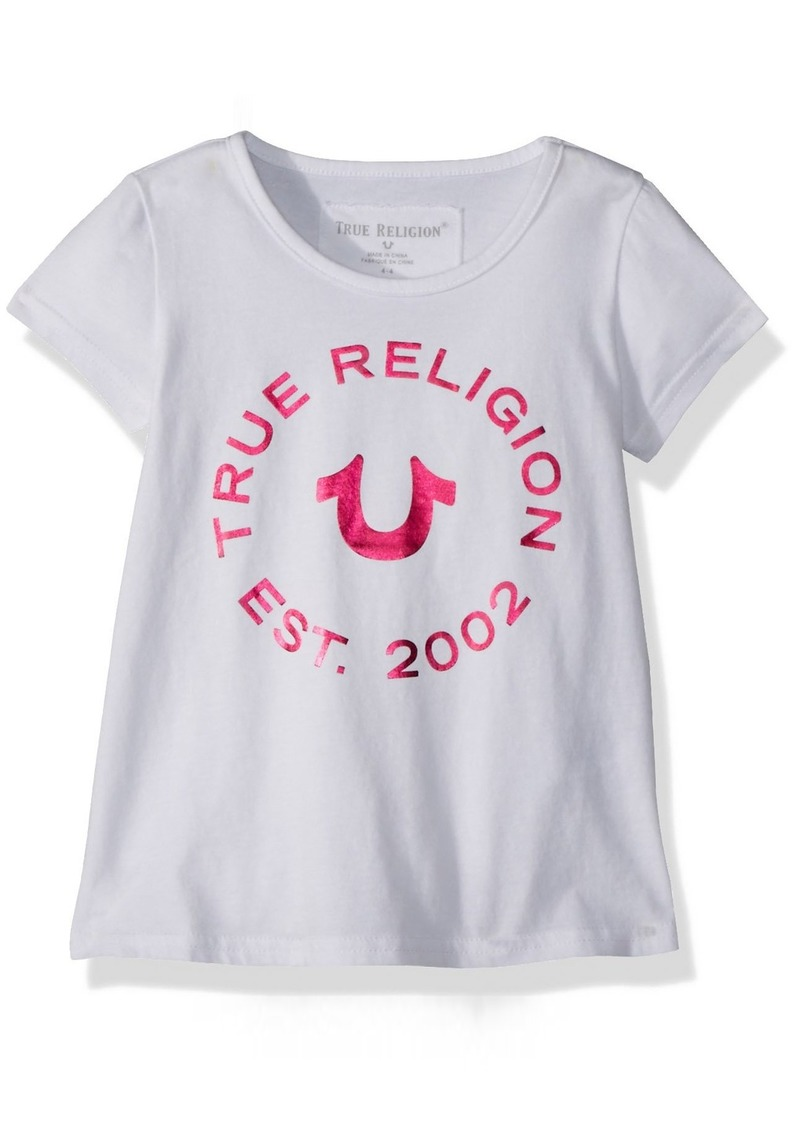 42e5193d1 True Religion True Religion Toddler Girls' Fashion Short Sleeve Tee ...