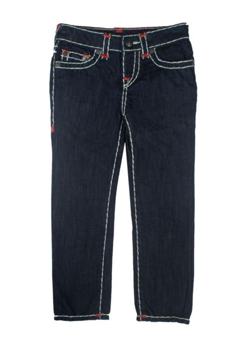 True Religion Toddler's, Little Boy's, & Boy's Geno Contrast Stitch Jeans