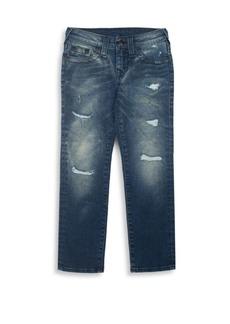 True Religion Toddler's, Little Boy's & Boy's Geno Slim-Fit Single End Jeans