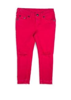 True Religion Toddler's, Little Girl's & Girl's Casey Ripped Jeans