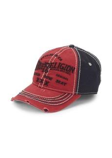 dcdf9af9ad7445 True Religion True Religion Men's Faded Graffiti Baseball Cap