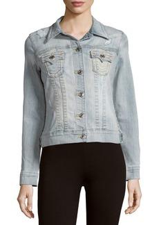 True Religion Trucker Cotton-Blend Denim Jacket