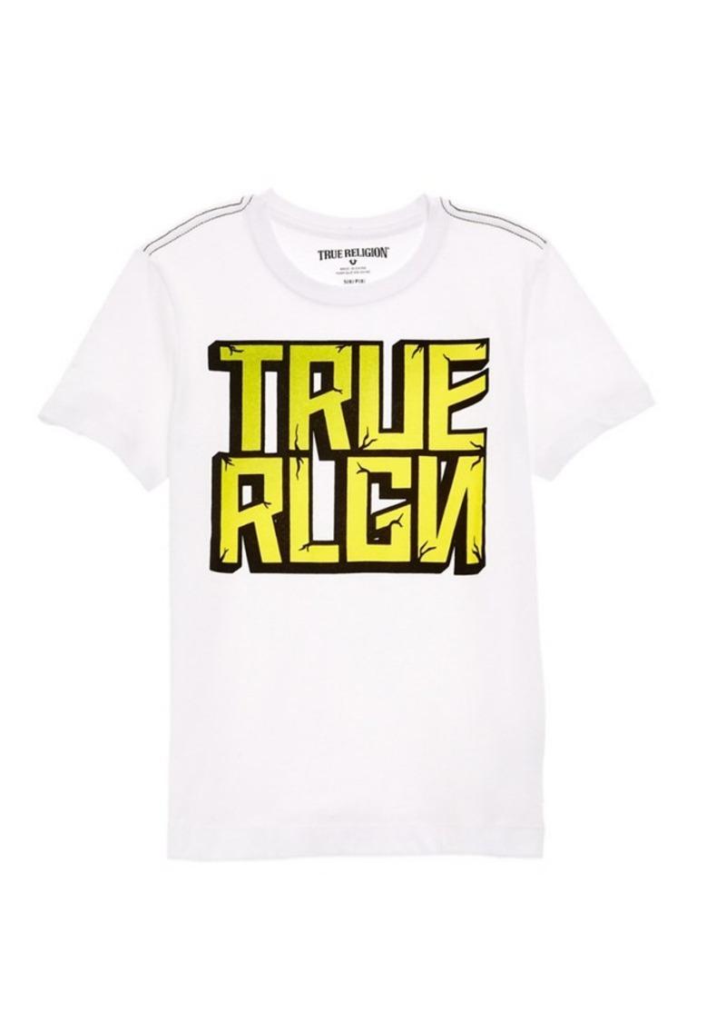 True Religion True Religion Boys' White Tee