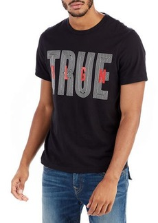 True Religion TRUE RLGN Logo Graphic T-Shirt