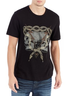 True Religion Twin Bolts Graphic T-Shirt