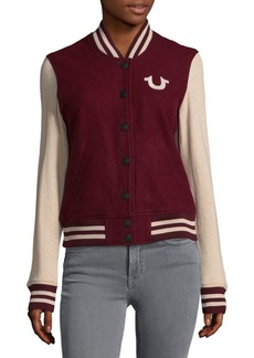 True Religion Varsity Jacket