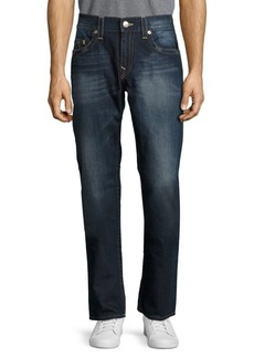 True Religion Washed Slim-Fit Jeans