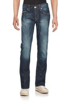 True Religion Washed Five-Pocket Jeans