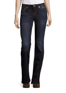 True Religion Whiskered Bootcut Jeans