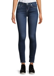 True Religion Whiskered Super Skinny Jeans