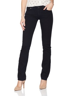 True Religion Women's Billie Mid Rise Straight Leg Jean