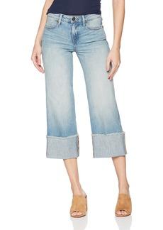 True Religion Women's Brooklyn Wide Leg Jean