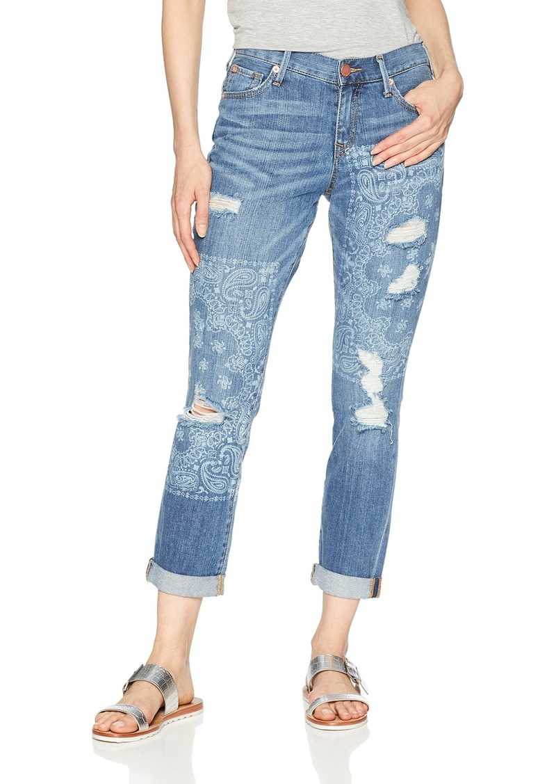 True Religion Women's Cameron Slim Boyfriend
