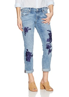 True Religion Women's Cameron Slim Boyfriend Jean