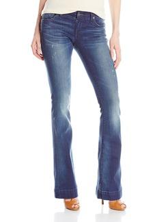 True Religion Women's Charlize Mid Rise 35 Inch Jean in