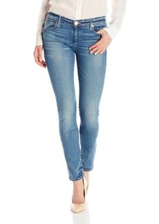 True Religion Women's Cora Mid-Rise Straight-Leg Jean