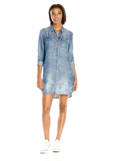 True Religion Women's Georgia Shirt Dress