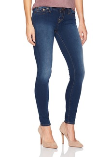 True Religion Women's Halle Mid Rise Skinny Jean in