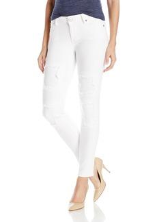 True Religion Women's Halle Mid Rise Super Skinny Crop Jean